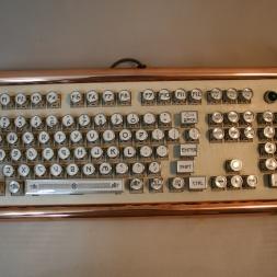 Custom Copper Keyboard