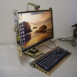 Display with Scope Webcam